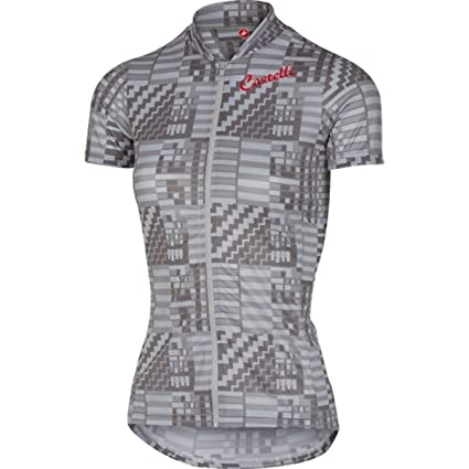 Castelli Bellissima Sentimento Full Zip Jersey - Short Sleeve - Women s  Camouflage Grey 31cc7cce8