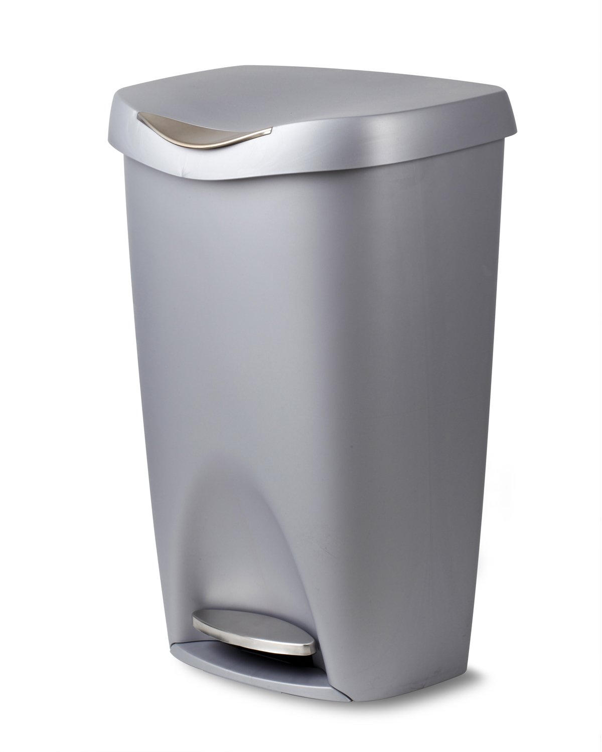 Amazon.com: Umbra Brim Large Kitchen Trash Can with Stainless ...