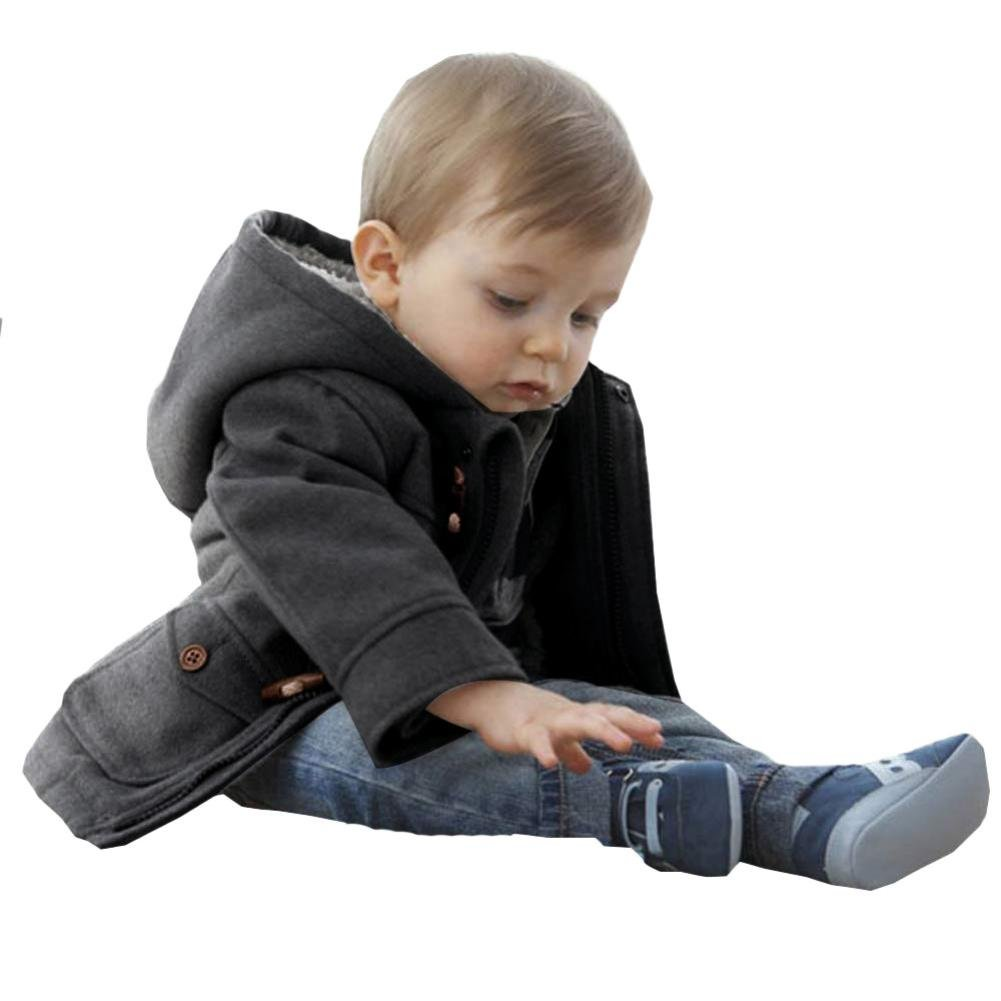 Baby Coat For 3M-3Y,Leegor Winter Cute Boy Claw Button Zipper Jacket Leegor-567