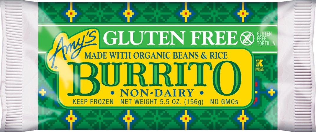 View Amy's Gluten Free Burrito Pictures