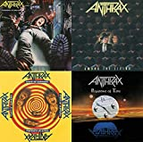 Anthrax: Rise to Stardom 4 CD Studio Album Collection (Spreading the Disease / Among the Living / State of Euphoria / Persistence of Time)