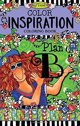 Color Inspiration Coloring Book: Plan B (Perfectly Portable Pages) (On-The-Go Coloring Book)