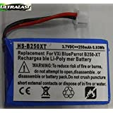 Ultralast Rechargeable Replacement Battery for VXI Blue Parrott 052030, 502030 fits BlueParrott B250-XT Wireless Bluetooth Headset, Roadwarrior, Blue-Parrot PL602030