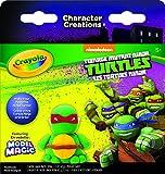 ninja turtle art kit - Crayola Teenage Mutant Ninja Turtles Model Magic Character Creations Art Kit