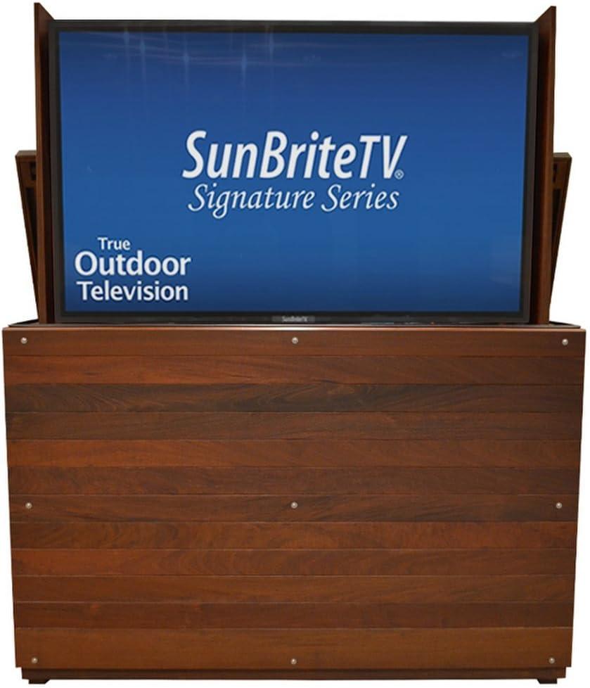 Amazon Com Tv Lift Handcrafted Ironside Outdoor Tv Lift Cabinet