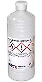 Alcohol Isopropílico Nazza   Para la limpieza de componentes electrónicos   100% Isopropanol puro  