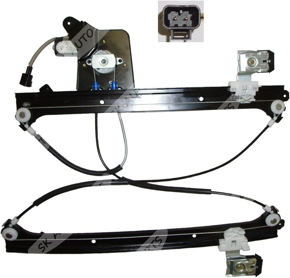 Genuine Cadillac//Chevrolet//GMC Rear Driver Side Door Glass Regulator Partslink Number GM1550114