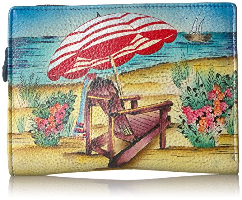 Anna by Anuschka Clutch Wallet | Genuine Leather | Life is a Beach