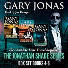 The Jonathan Shade Series: Books 4-6: Anubis Nights, Sunset Specters, Wizard's Nocturne Audiobook by Gary Jonas Narrated by Joe Hempel