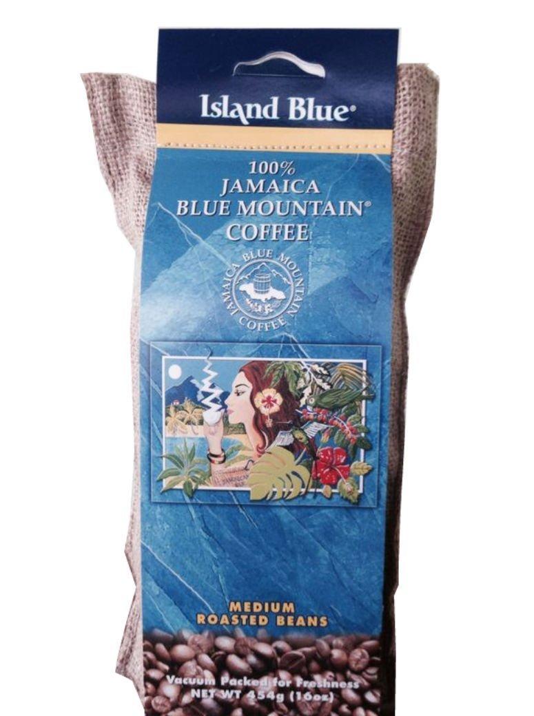 Jamaica Blue Mountain Coffee 5Lb. Bag by Blue island
