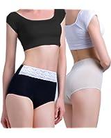 Intimate Portal Women Triple Protective Period Panties Light Absorbent Underwear