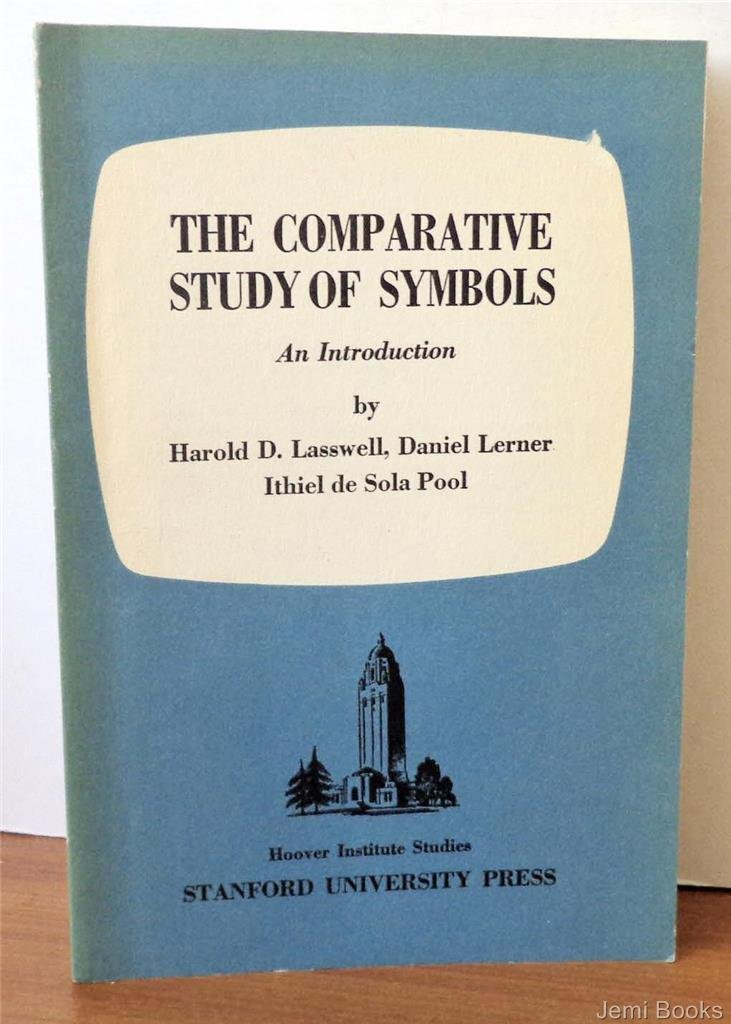The Comparative Study Of Symbols An Introduction Hoover