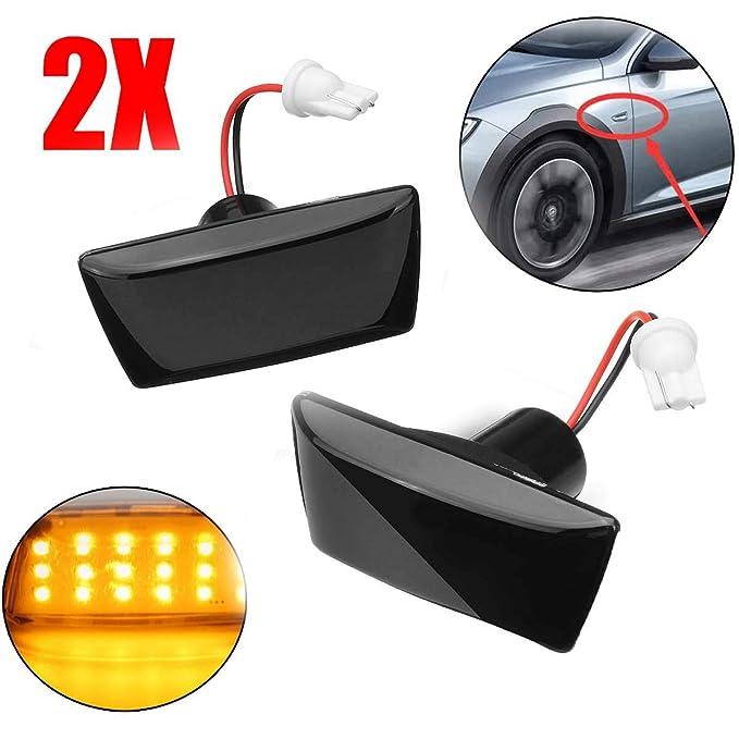 2x Vauxhall Zafira MK1//A 4-LED Side Repeater Indicator Turn Signal Light Bulbs