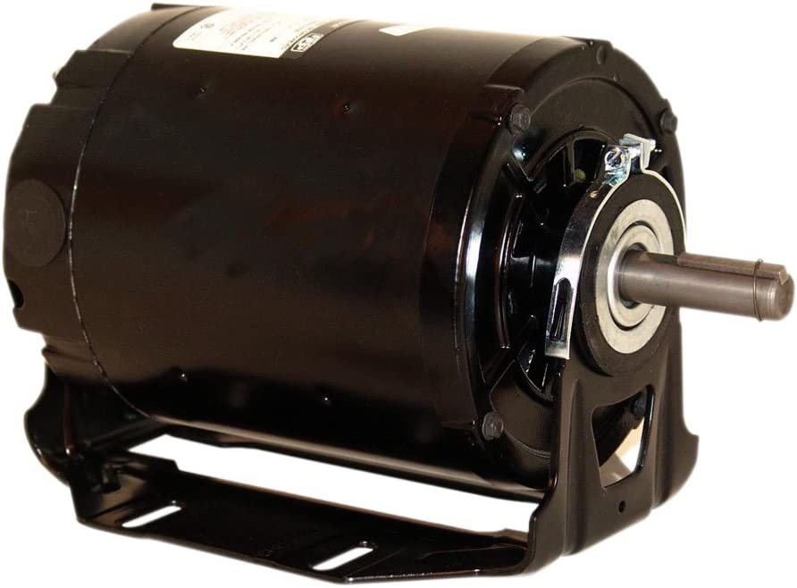 A.O. Smith GK2104DV1 1 hp, 1725 RPM, 115/230 volts, 56 Frame, ODP, Sleeve Bearing Belt Drive Blower Motor