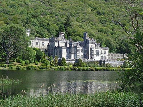 Home Comforts Laminated Poster Kylemore Abbey Ireland Land Castle Poster Print 24 x 36 ()