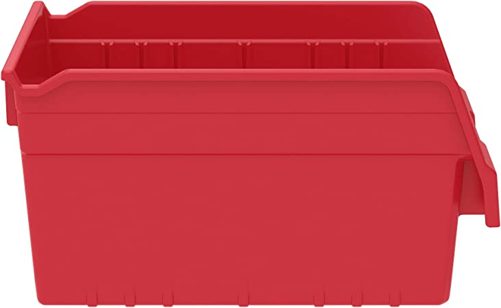 VSL 85 Litre Red Plastic Outdoor Bin
