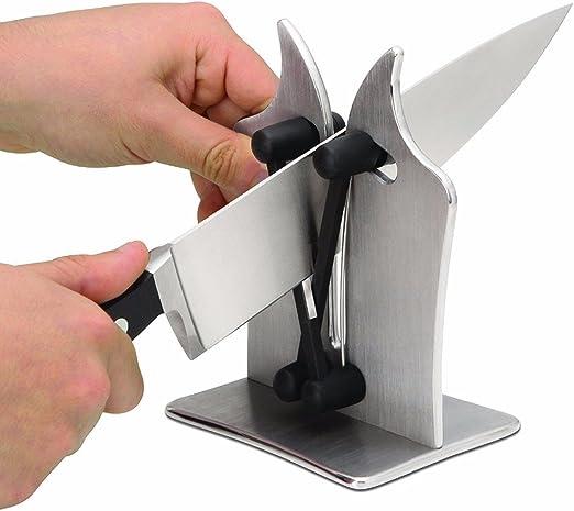 Compra Pveath Afilador de cuchillos de cocina, afilador de ...