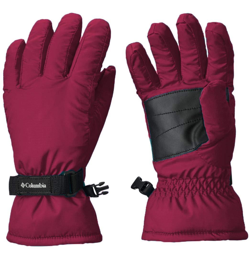 Columbia Boy's Y Core Gloves (X-Small, Purple(XY0123-520)/Black)