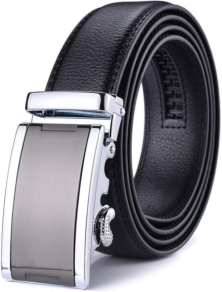 Wetoper Hombre Cintur/ón-Cuero Autom/ática Cintur/ón De Hombre 35MM-Tama/ño Ajuste