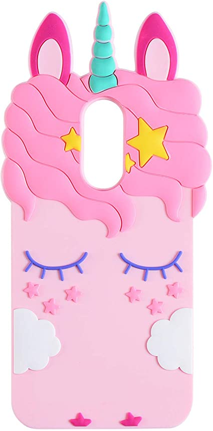 Cute Unicorn soft rubber case for Kids