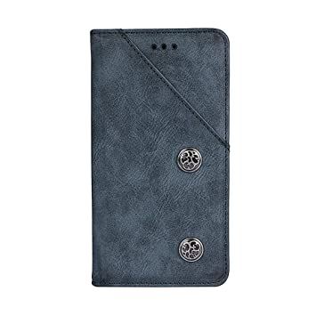 WedSen Funda Huawei Mate 20 with Kickstand [Ranura para Tarjeta] [TPU Bumper] [Anti-Scratch] Estuche de Cuero PU con Tapa Plegable para Huawei Mate 20 ...