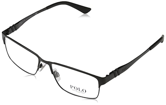 96fb72c6e234 Amazon.com: Eyeglasses Polo PH 1147 9038 MATTE BLACK: Clothing