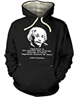 Imagination Quote Einstein Hoodie (premium)