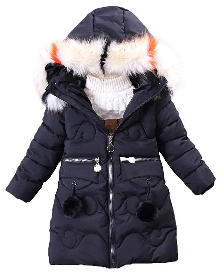 fa1199328 Amazon.com: Capturelove Big Girls' Winter Parka Long Puffer Jacket ...