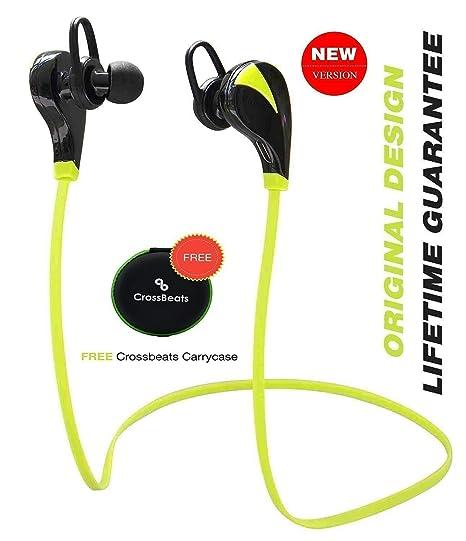 bde73b51250 CrossBeats Neo Wireless Sweatproof Running Jogging Gym Stereo Earphones  Built-in Mic/APT-