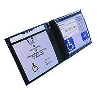 Black Disabled Parking Permit Holder