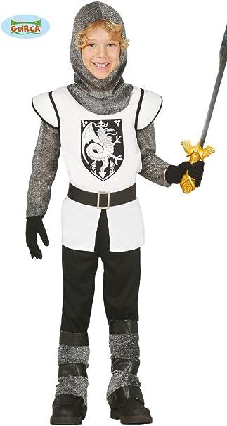 Vestito Cavaliere Bambino.Guirca Costume Cavaliere Medievale Carnevale Halloween Bambino 8569 5 6 Anni Amazon It Giochi E Giocattoli