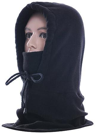 Pasamontañas,Fascigirl Unisex Invierno Polar polar ajustable Pasamontañas Máscara de esquí Campana Deportes al aire