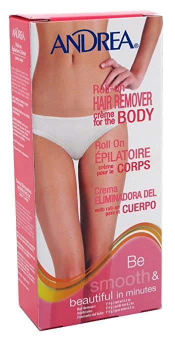 Andrea Roll-On Hair Remover Crème for the Body