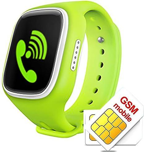 Niños Smart Watch, kingear A6 Niños – Perdido Smartwatch con GPS ...