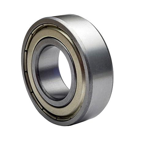 608 bearing. 608 zz skateboard bearings, double shielded, silver (pack of 8) bearing