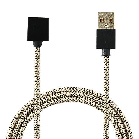 Amazon.com: FoutainX - Cargador USB magnético de nailon ...