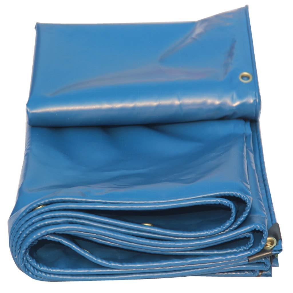 Blaue Plane Groundsheet, doppelte Wasserdichte Sonnencreme-Markise Garten Car Farm Winddicht kalt und feuchtigkeitsfest im Freien Zelt Matte 450g / Quadratmeter (größe : 2x3m)