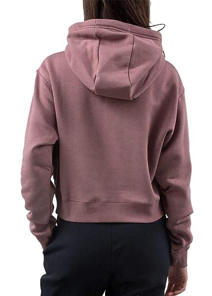 Nike Sportswear Air FLC Sudadera Capucha Mujer Rosa M (Medium): Amazon.es: Ropa y accesorios
