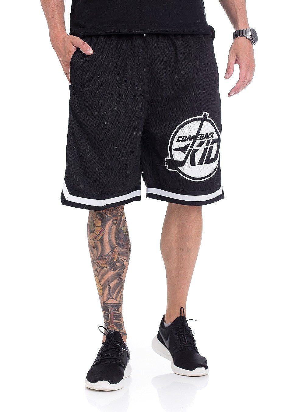 Comeback Kid Circle Striped Shorts