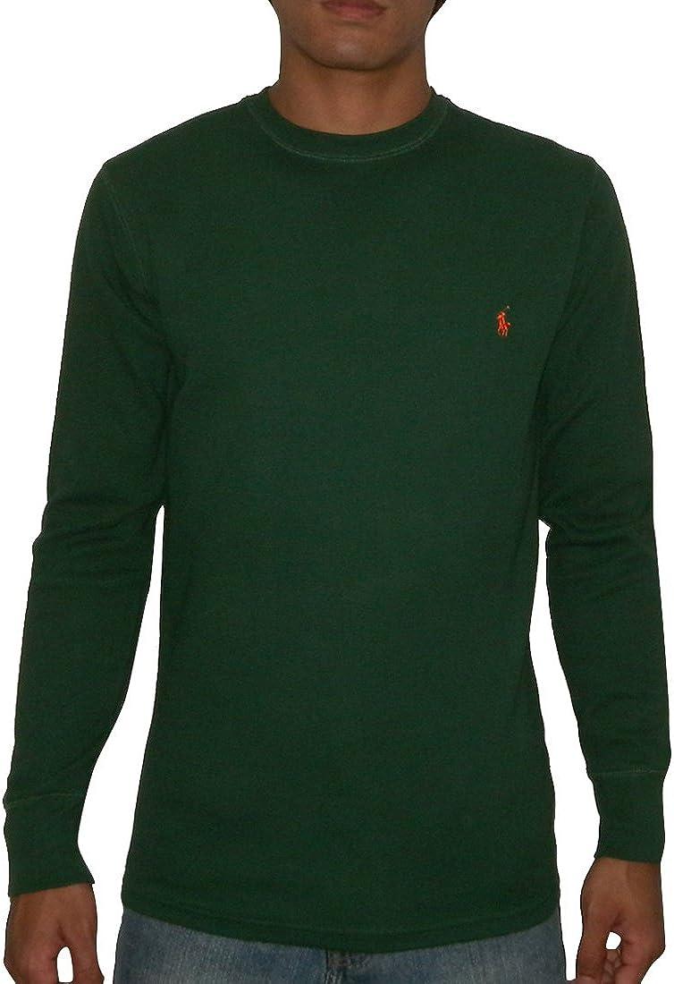 New Polo Ralph Lauren Men/'s Long Sleeved Thermal Waffle Sleepshirt Top T Shirt