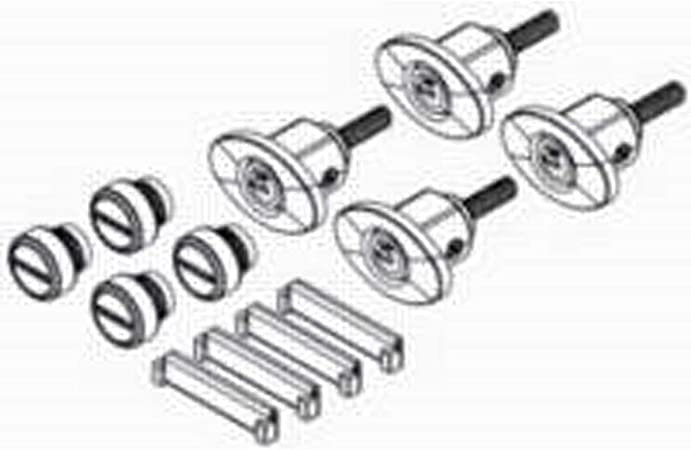 one replacement part no key  SEE DESC 1 single Yakima Raingutter knob handle