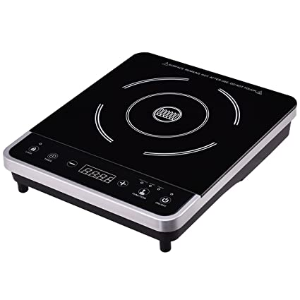 New Cooker Single Burner Digital Hot Plate Cooktop Countertop Electric  Induction