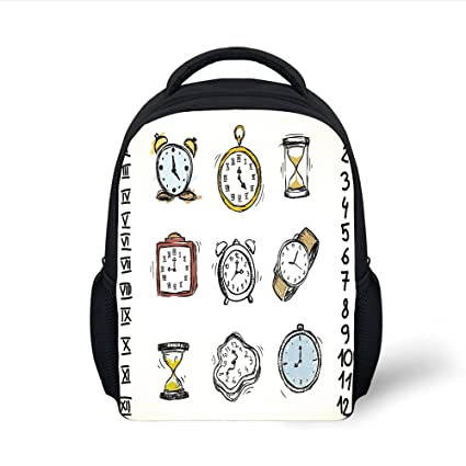 Amazon.com  iPrint Kids School Backpack Clock Decor 89ec0195b93b3