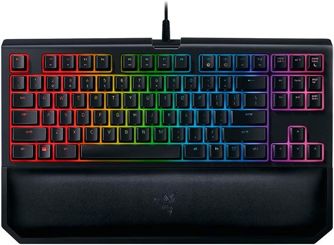 Razer Blackwidow Te Chroma V2 Keyboard Orange Switches Computer Zubehör