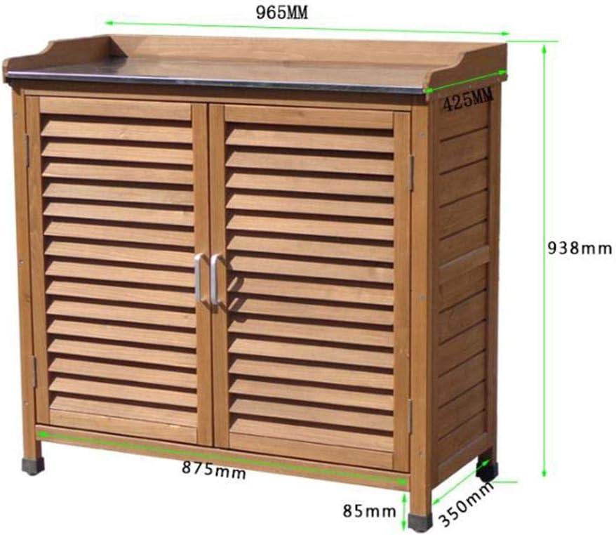 Baul Exterior Almacenaje, Partición Ajustable Baules Almacenaje Exterior Grande Tirador Puerta Galvanizado Baul Exterior Impermeable, Diseño Puerta Rejilla Simple Moderno: Amazon.es: Jardín