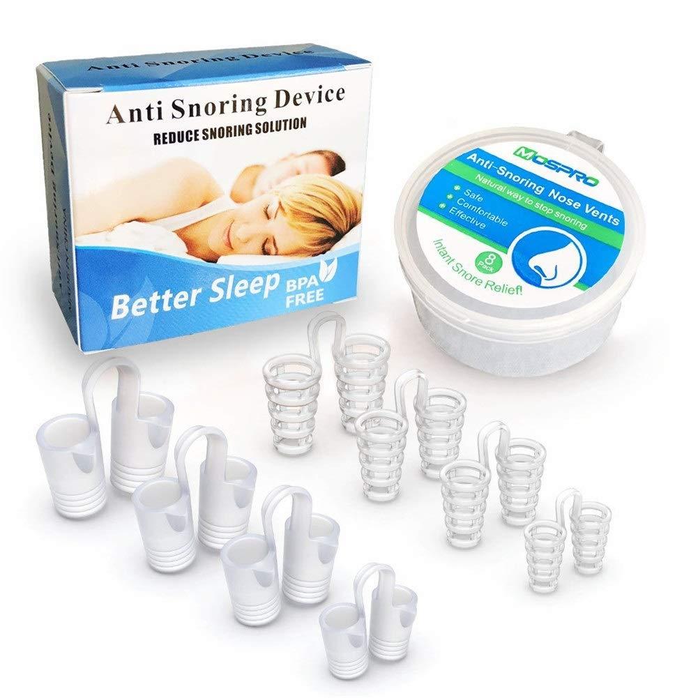 HLDUYIN Dispositivos contra el ronquido/respiraderos en la Nariz Dilatadores nasales Ronquido Tapón Facilidad para Respirar Solución para Dormir Respiración ...