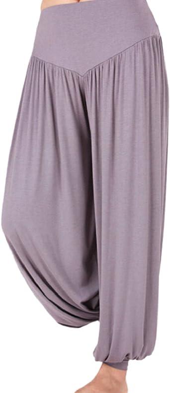 Ninimour Pantalones largos de longitud completa para mujer, Yoga ...