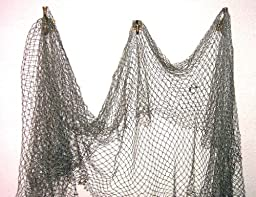 Fish Net Nautical Fishing Decor Large Mesh by TikiZone