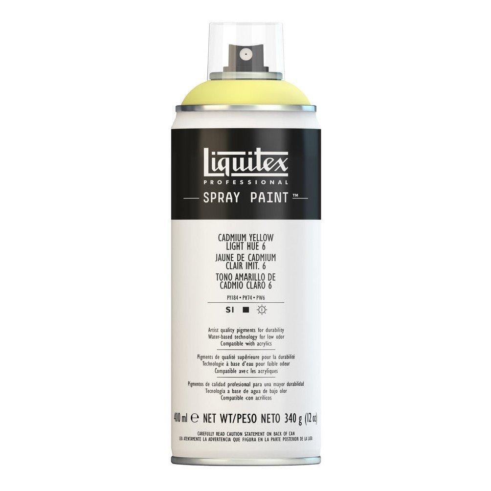 Liquitex プロフェッショナル スプレーペイント 12オンス 13.5 oz イエロー 4456159 B008N7HFQE Cadmium Yellow Light Hue 6 Cadmium Yellow Light Hue 6