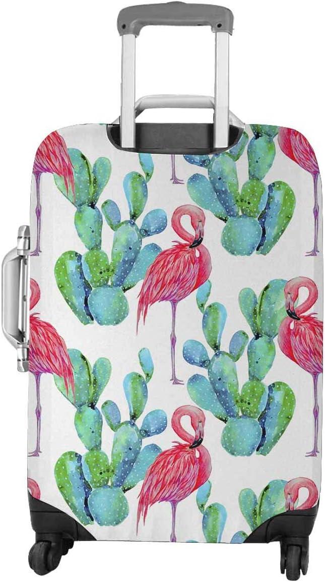 LedBack 3D Floral Printed Luggage Cover Protector Dustproof Bag for Suitcase